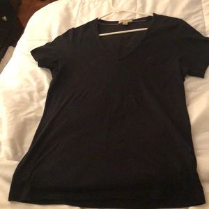 Burberry Brit v neck t shirt